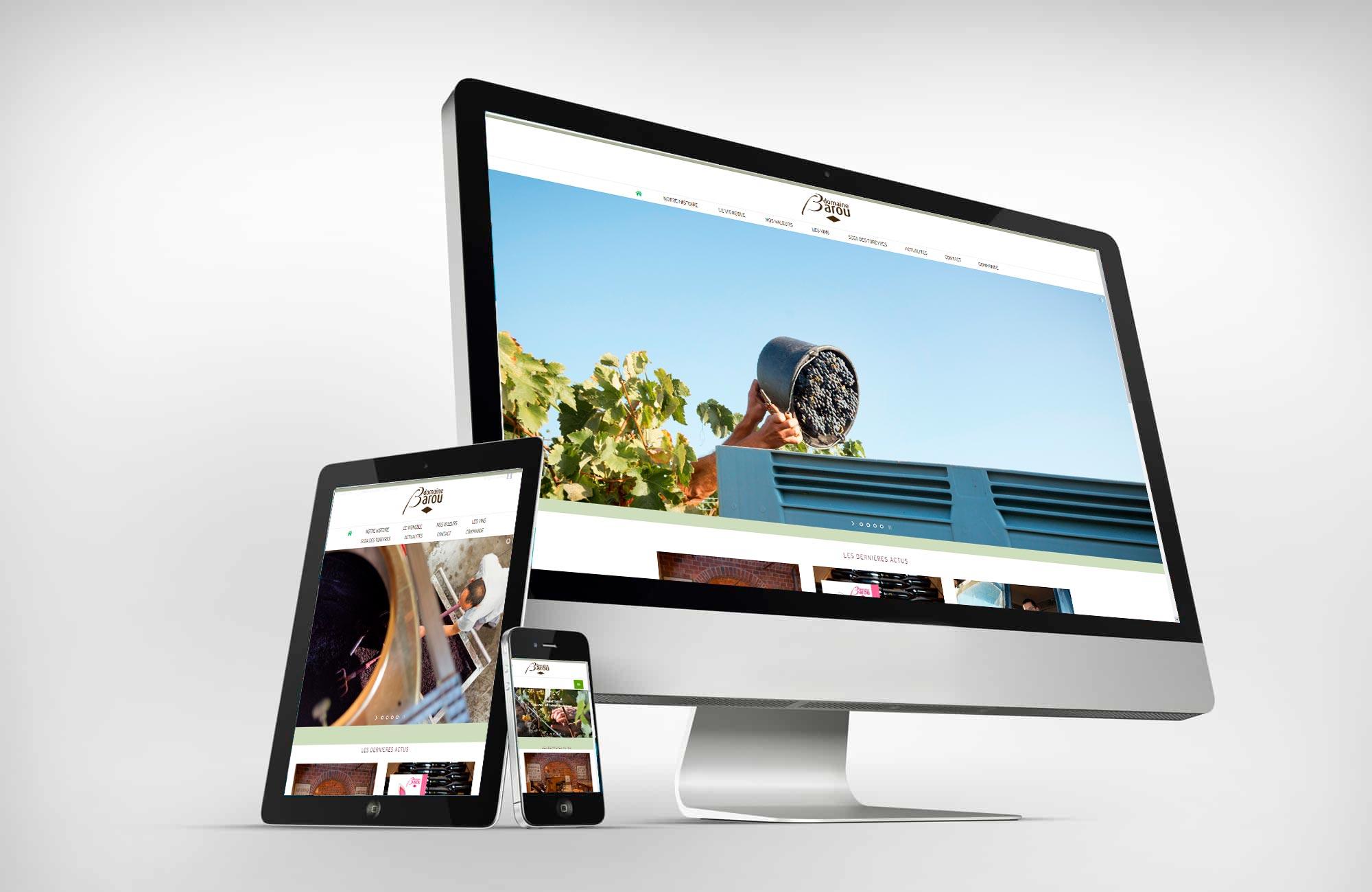 Site web Barou